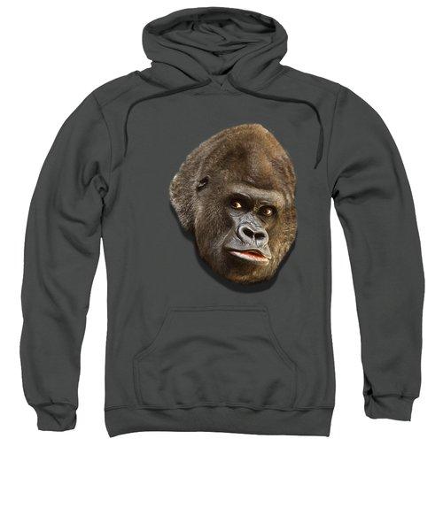 Gorilla Sweatshirt by Ericamaxine Price
