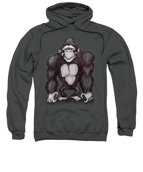 Gorilla Sweatshirt by Kevin Middleton
