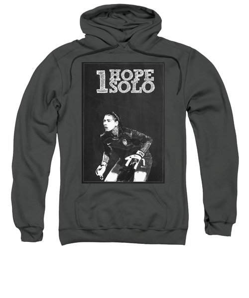 Hope Solo Sweatshirt by Semih Yurdabak