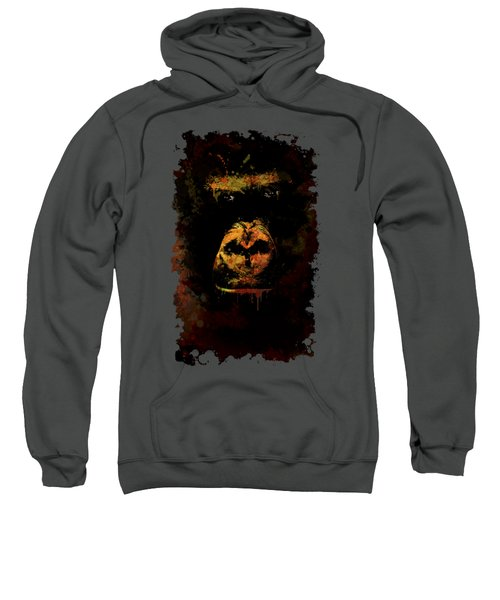 Mighty Gorilla Sweatshirt by Jaroslaw Blaminsky
