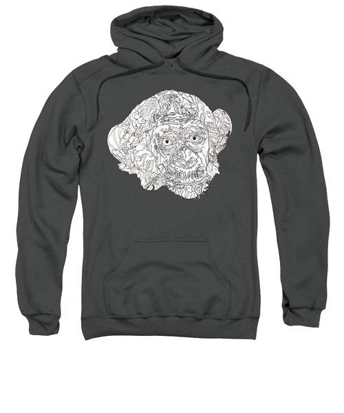 Monkey Sweatshirt by Jacob Hurley