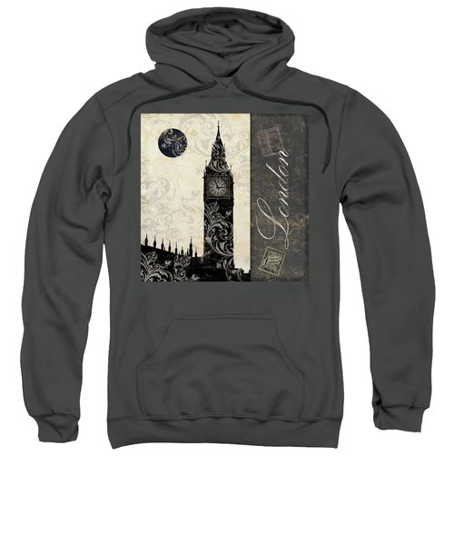 Moon Over London Sweatshirt by Mindy Sommers