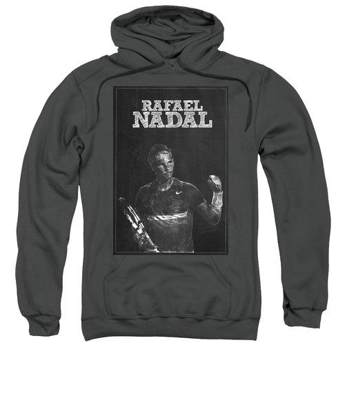 Rafael Nadal Sweatshirt by Semih Yurdabak
