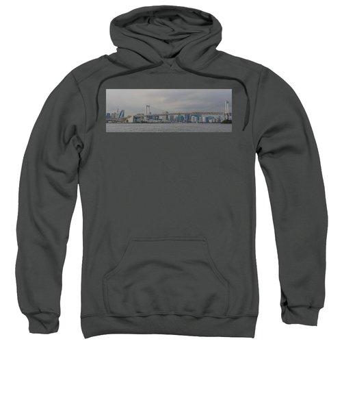 Rainbow Bridge Sweatshirt by Megan Martens