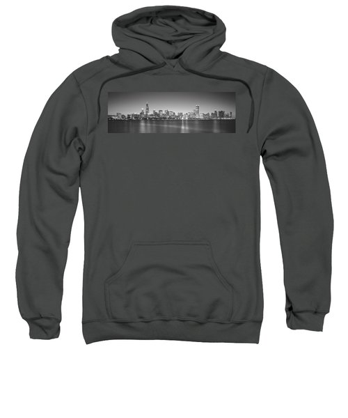 Skyscrapers At The Waterfront, Hancock Sweatshirt by Panoramic Images