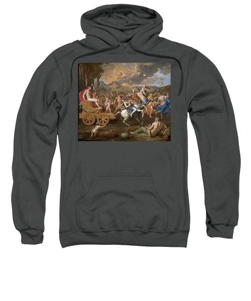 The Triumph Of Bacchus Sweatshirt by Nicolas Poussin