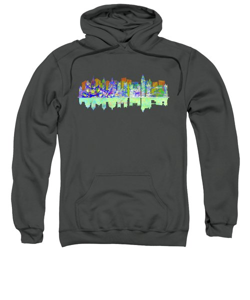 London England Skyline Sweatshirt by John Groves