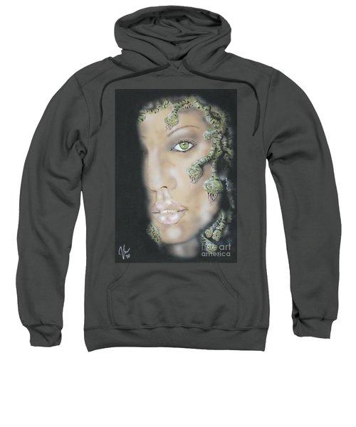 1st Medusa Sweatshirt by John Sodja