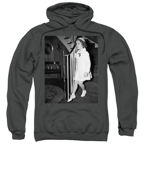 Actress Shirley Temple Sweatshirt by Underwood Archives