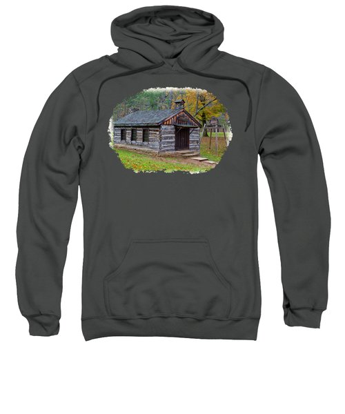 Church Sweatshirt by John M Bailey