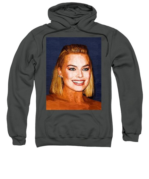 Margot Robbie Art Sweatshirt by Best Actors
