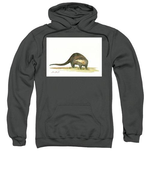 Otter Sweatshirt by Juan Bosco