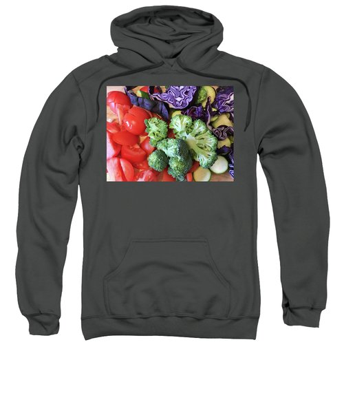 Raw Ingredients Sweatshirt by Tom Gowanlock