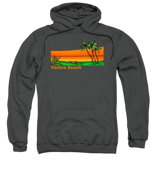 Venice Beach Sweatshirt by Brian Edward