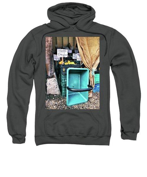 A Farmers' Market Sweatshirt by Tom Gowanlock
