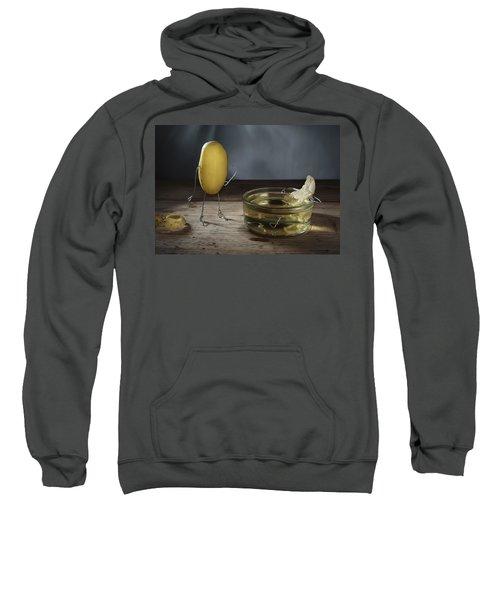 Simple Things - Potatoes Sweatshirt by Nailia Schwarz