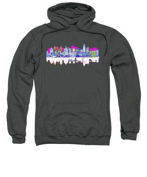 London England Skyline Sweatshirt by John Groves