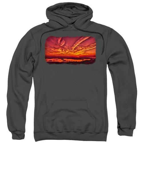 A New Maine Day Sweatshirt by John M Bailey