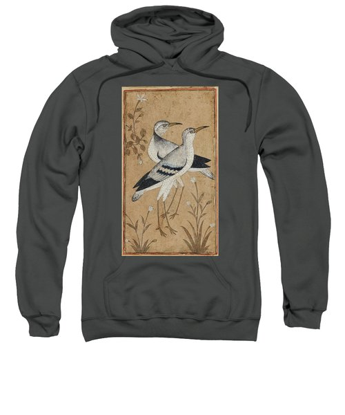 A Pair Of Lapwings Sweatshirt by MotionAge Designs