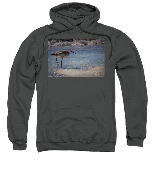 A Walk On The Beach Sweatshirt by Marvin Spates