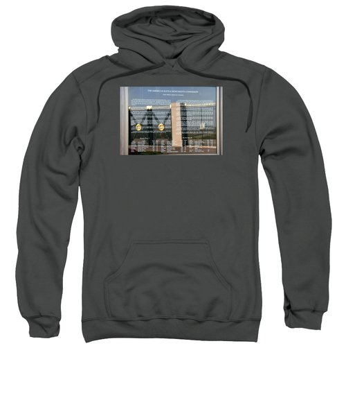 Sweatshirt featuring the photograph American Battle Monuments Commission by Travel Pics
