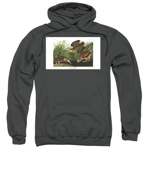 American Woodcock Sweatshirt by MotionAge Designs