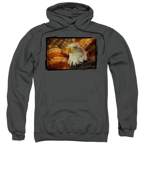American Icons Sweatshirt by Susan Candelario