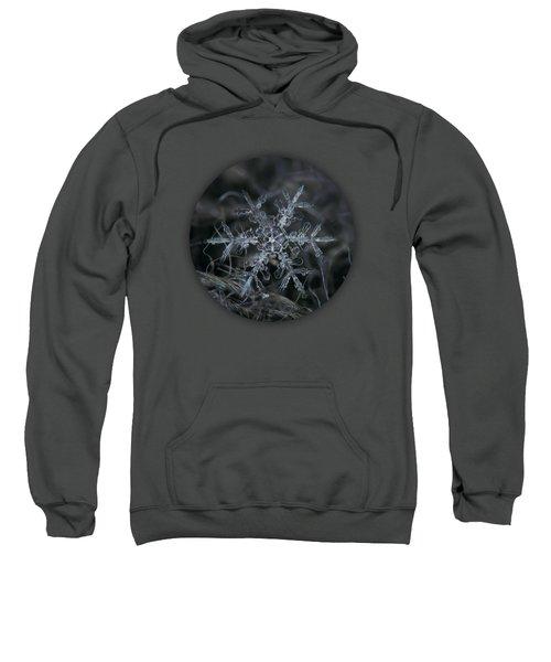 Snowflake 2 Of 19 March 2013 Sweatshirt by Alexey Kljatov