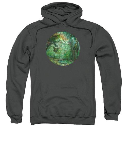 Rainy Woods Sweatshirt by Mary Wolf