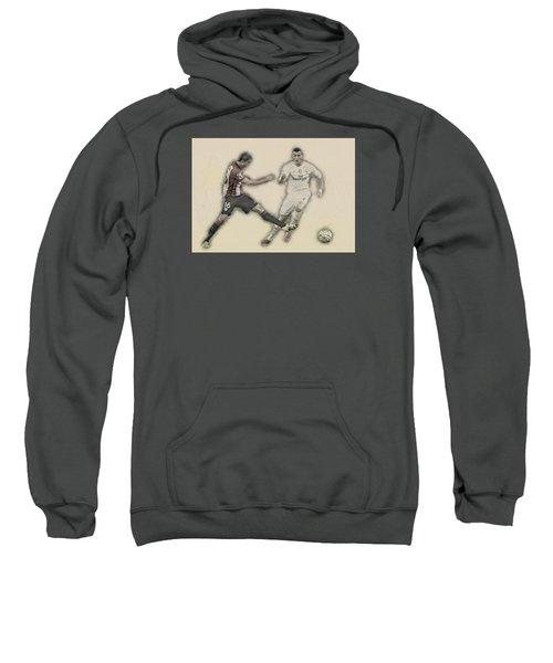 Athletic Club  Vs Real Madrid Sweatshirt by Don Kuing