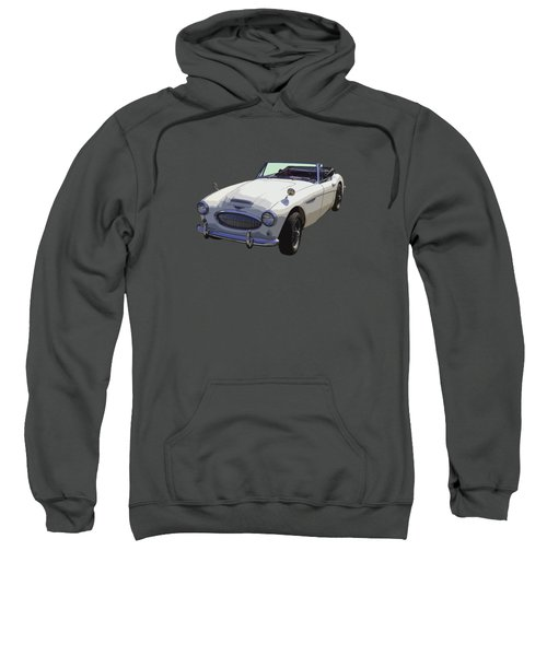 Austin Healey 300 Classic Convertible Sportscar  Sweatshirt by Keith Webber Jr