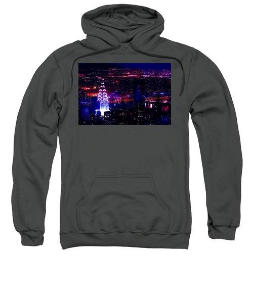 Beautiful Manhattan Skyline Sweatshirt by Az Jackson