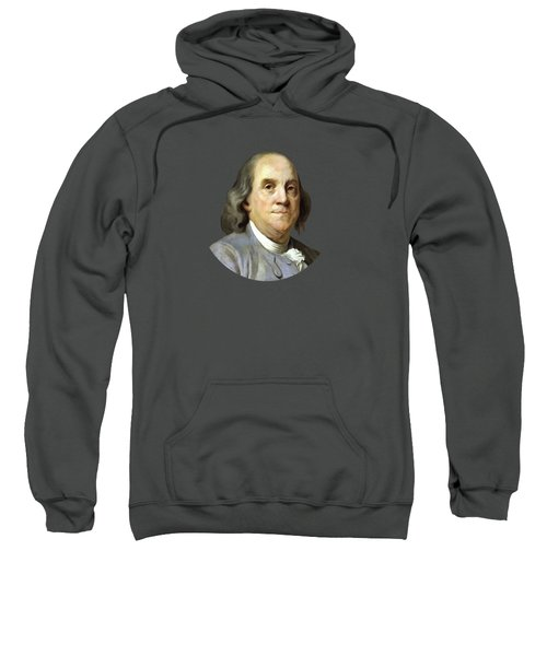 Benjamin Franklin Sweatshirt by War Is Hell Store
