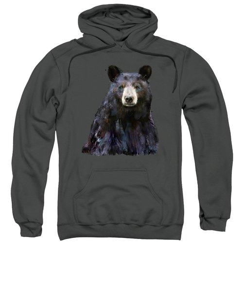 Black Bear Sweatshirt by Amy Hamilton