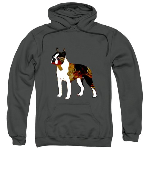 Boston Terrier Collection Sweatshirt by Marvin Blaine