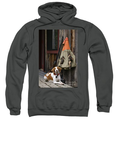 Brittany And Woodcock - D002308 Sweatshirt by Daniel Dempster