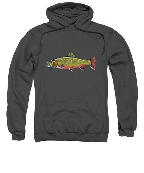 Brook Trout Sweatshirt by Serge Averbukh