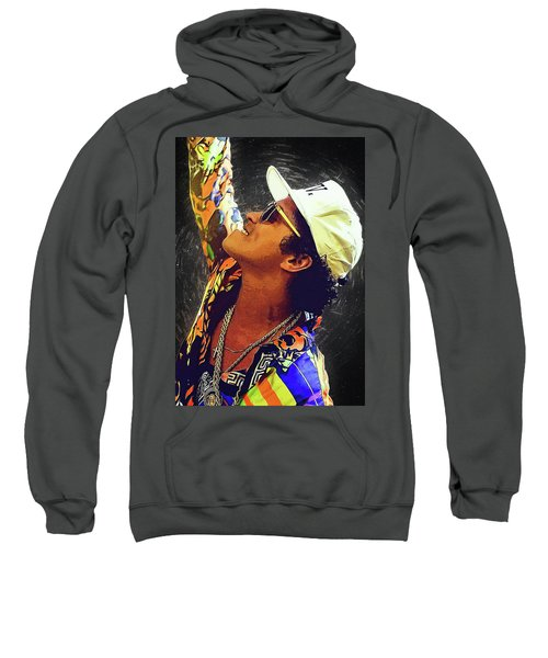Bruno Mars Sweatshirt by Semih Yurdabak