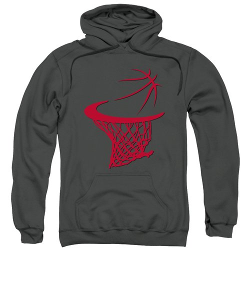 Bulls Basketball Hoop Sweatshirt by Joe Hamilton
