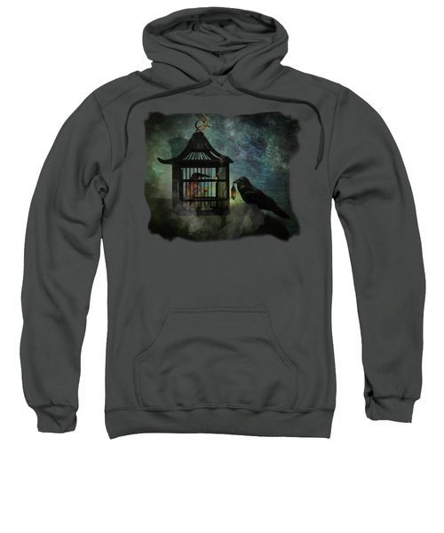Captivity Sweatshirt by Terry Fleckney