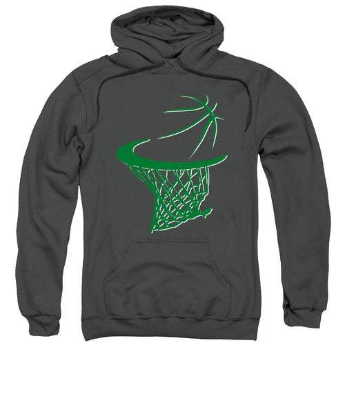 Celtics Basketball Hoop Sweatshirt by Joe Hamilton