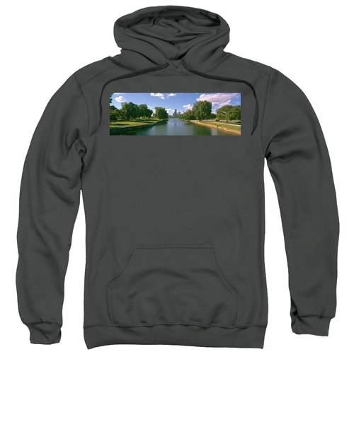 Chicago From Lincoln Park, Illinois Sweatshirt by Panoramic Images