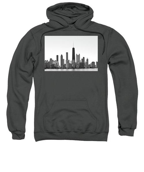 Chicago Skyline No. 1-1 Sweatshirt by Sandy Taylor