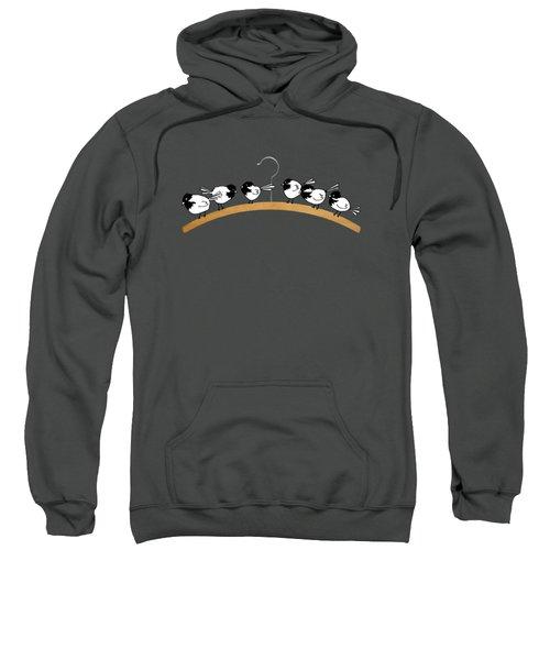 Chickadees Sweatshirt by Matt Mawson