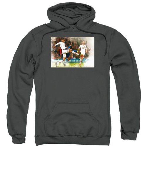 Chris Smalling  In Action  Sweatshirt by Don Kuing