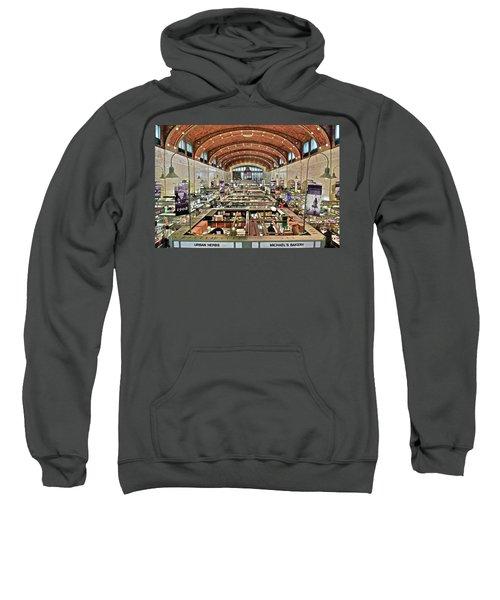 Classic Westside Market Sweatshirt by Frozen in Time Fine Art Photography