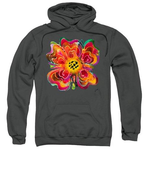 Colorful Flower Art - Summer Love By Sharon Cummings Sweatshirt by Sharon Cummings
