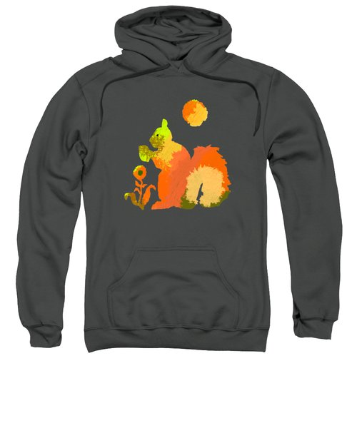 Colorful Squirrel 2 Sweatshirt by Holly McGee
