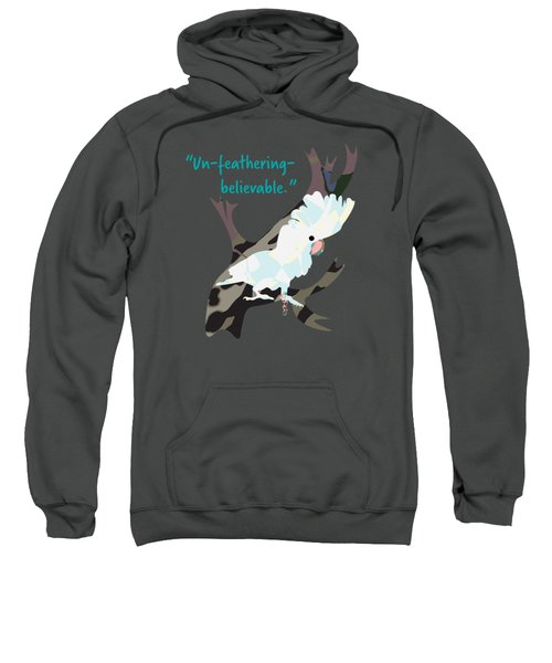 Cookie Cockatoo Sweatshirt by Geckojoy Gecko Books