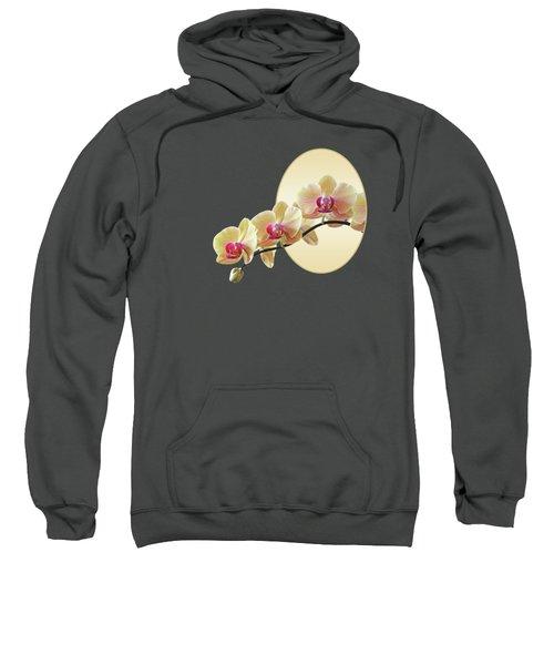 Cream Delight - Square Sweatshirt by Gill Billington